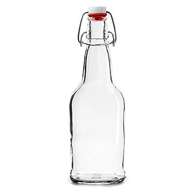 Chef's Star Easy Cap Beer Bottles, 16 oz, Pack of 6