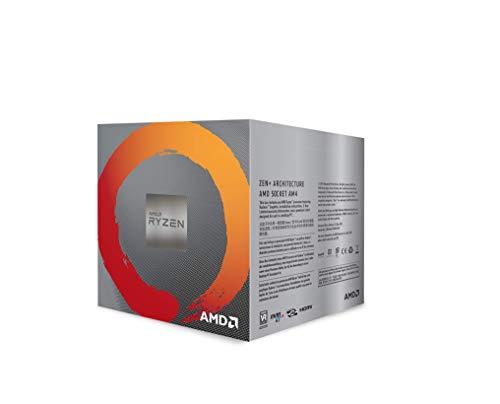 Amd Ryzen 5 3400g Procesador Con Disipador De Calor Wraith Spire 4 Mb 4 Nucleos Velocidad De 42 Ghz 65w