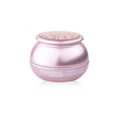 Bergamo Korean Natural Pure Snail Extract Wrinkle Care High Lifting Anti Aging Cream 50g