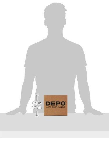 Depo 335-50041-370 Chevy Silverado Tailgate Exterior Door Handle