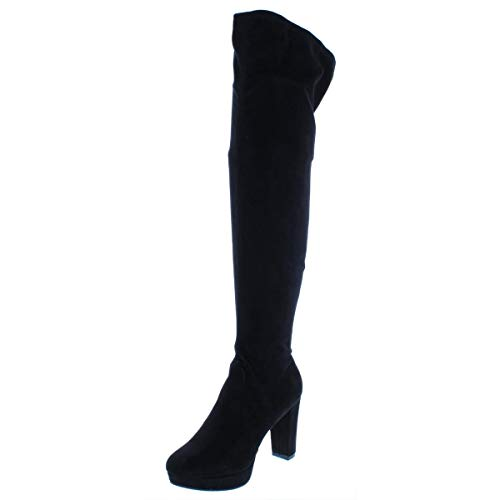 Price comparison product image bar III Womens Night Closed Toe Over Knee Fashion Boots,  Black,  Size 8.0