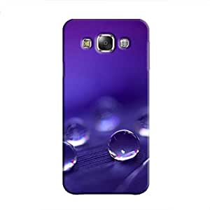 Cover It Up - Purple Drops Galaxy E7 Hard Case