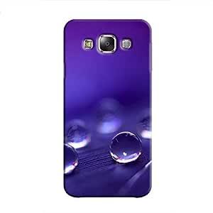 Cover It Up - Purple Drops Galaxy E7 Hard Case