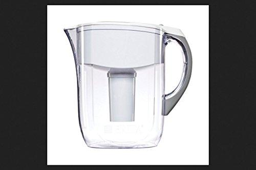 Brita Water Filter 10-Cup Grand Water Pitcher Dispenser - White