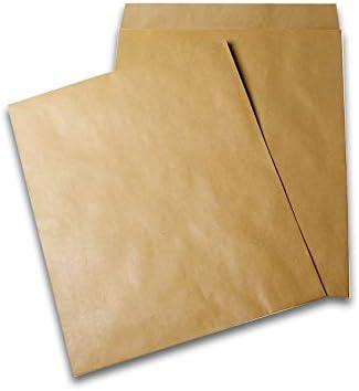 Caja de 250 sobres de radio, 290 x 380 cm, 120 g/m2, color marrón ...