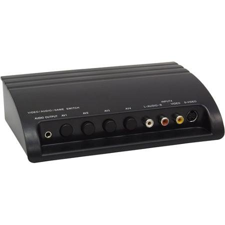 (GE 4-Device Audio/Video Switch - 37630)