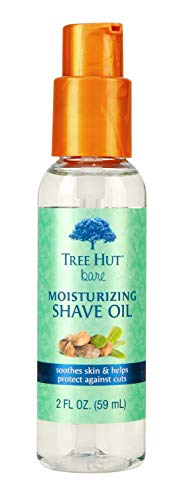 Tree Hut bare Moisturizing Shave Oil, 2oz, Essentials for Soft, Smooth, Bare - Shave Essential Oil
