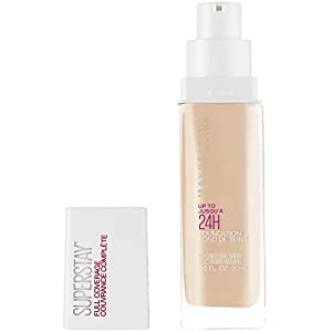 Maybelline Super Stay Full Coverage Foundation, Natural Ivory, 1 fl. oz.