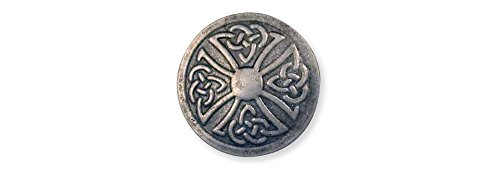 Tandy Leather Celtic Stamped Steel Concho Round 1