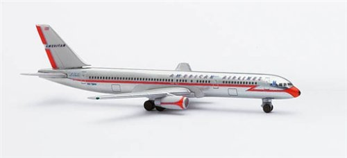 AIRCRAFT MODEL 2484 AMERICAN AIRLINES BOEING B-757-223 (Airlines Boeing American 757)