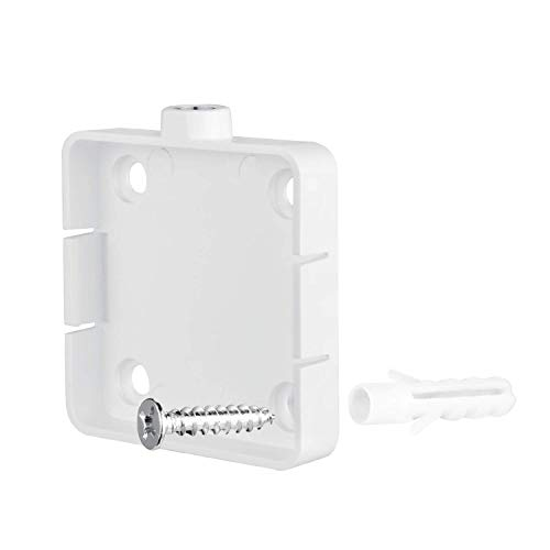 Wasserstein Adjustable Metal Mount with Universal Screw Compatible with  Wyze Cam - Extra Flexibility for Your Wyze Cam (2 Pack, White)