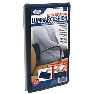 North American Health + Wellness Auto-Inflating Lumbar Cushion by North American Health + Wellness