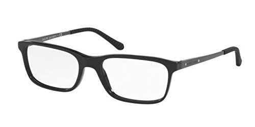 Ralph Lauren RL6134 Eyeglass Frames 5617-55 - 55mm Lens Diameter Black RL6134-5617-55