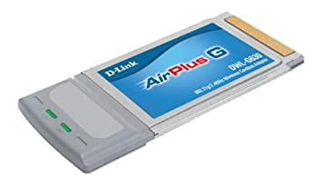 D-Link DWL-G630 Wireless Cardbus Adapter 802.11g 54Mbps Wireless USB Adapters at amazon