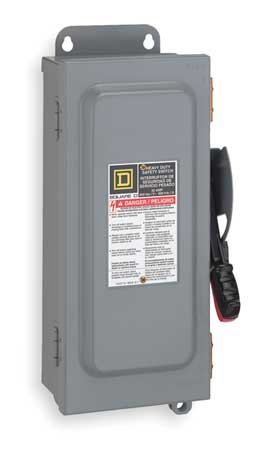 (400 Amp 600VAC/DC Single Throw Safety Switch 2P)