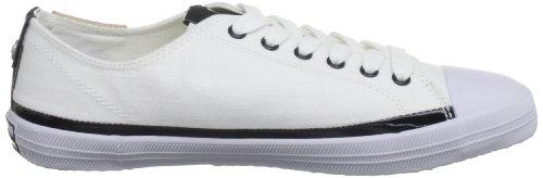 Obk Calvin Zapatillas de Klein tela Jeans de para Blanc deporte Blanco mujer qf1PwqxS
