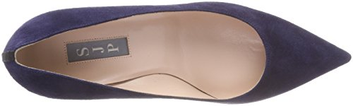 Toe Parker Closed 412 Abyss Blue Pumps 70 SJP Jessica Fawn by Sarah WoMen qH8H4C