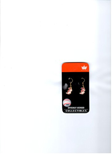 Sox Dangle Earrings (Boston Red Sox Earrings)
