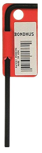 Bondhus 15982 Tagged and Barcoded 13mm Hex Tip Key L-Wrench with ProGuard Finish and Long Arm 240mm [並行輸入品] B078XL2LWX