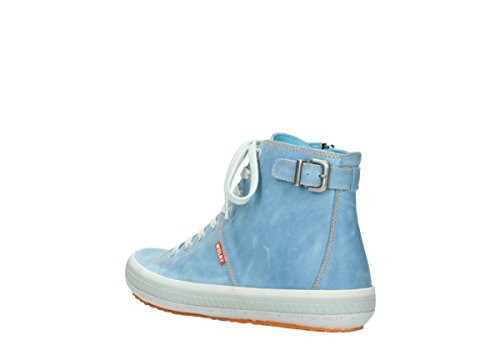 384 Leather Biker Wolky Trainers Blue Jeans Womens 1225 wtTqPXqRHx