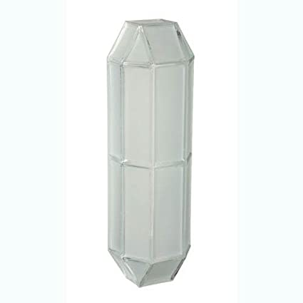 Besa lighting 304604 2x60w a19 prismo 16 wall sconce with frost besa lighting 304604 2x60w a19 prismo 16 wall sconce with frostclear glass aloadofball Image collections