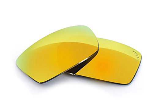 FUSE+ Cascade Mirror Polarized Lenses for Arnette Wrath - Wrath Sunglasses Arnette