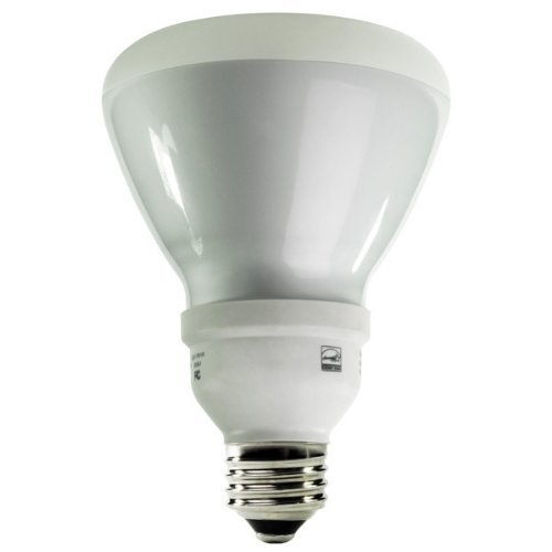 (12-Pack) TCP 2R301435K CFL R30 - 65 Watt Equivalent (14W) 3500K Flood Light Bulb