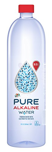 7-Eleven Pure Alkaline Water +9.5Ph, 20 Ounce (Pack of 24)
