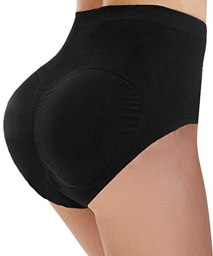 Padded Butt Enhancer - CeesyJuly Womens Padded Butt Enhancer Underwear Tummy Control Slimmer Panties