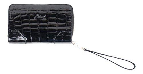 brioni-black-crocodile-leather-double-zippered-clutch-wallet-bag