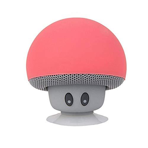 ni Waterproof Mushroom Wireless Music Stereo Subwoofer Hands Free for Phone ()