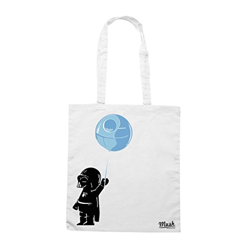 Borsa Baby Darth Vader - Bianca - Film by Mush Dress Your Style