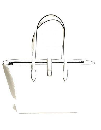 Borsa a spalla shopping medium Claire - mod.12400397 - Ermanno Scervino bianco