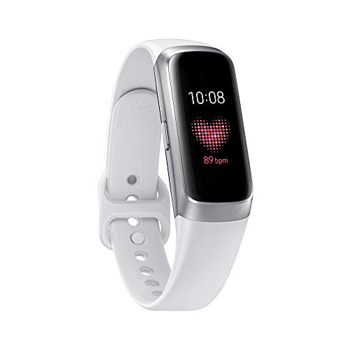 Samsung Galaxy Fit Silver (Bluetooth), SM-R370NZSAXAR - US Version with Warranty (Samsung Watch)