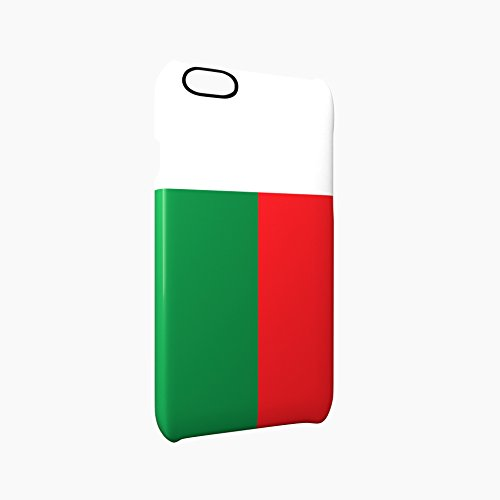 Flag of Madagascar Glossy Hard Snap-On Protective iPhone 6 Plus + / 6S Plus + Case Cover