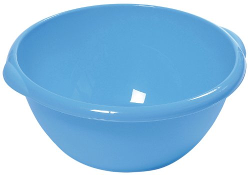 DEA Art 422 10 Litre Round Basins, Set of 3, Blue