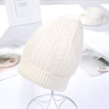 Gorra de esquí Beanie Cap Gorro de lana para mujer, sombreros de ...