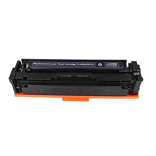 for Hp201aCF402A, CF403 Compatible Toner Cartridge M252n M277dw Cf400a Hp252dw Hp277dw Laser Printer Compatible with Toner Cartridges, 4 Colors Optional (Color : Black)