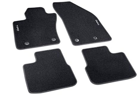 Auto e moto: ricambi e accessori Tappetini Set di qualità RINFORZATO NERO/BLU Mats-Tutti i protettori TAPPETO per FIAT