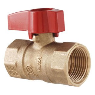 Forged Brass Gas Ball Valve - PROCURU 3/4