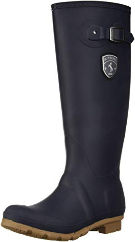 Kamik Women's Jennifer Rain Boot, Navy Gum, 7 Medium US