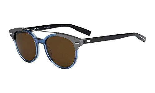 Christian Dior - BLACK TIE 220S, Geometric, acetate, men, BLUE GREY BLACK/BROWN(T6B/EC), 51/20/150 ()