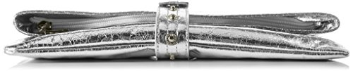 Boscha Damen Clutches, Silber (Silver 098), 29x15x1 cm