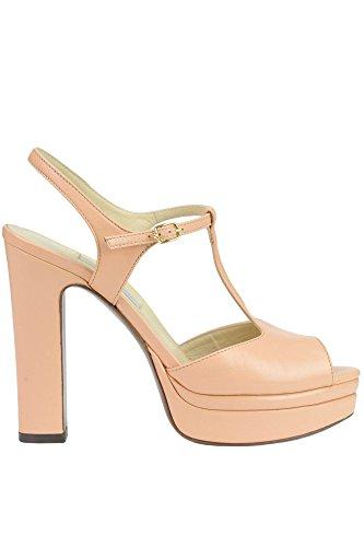 LAutre Chose Femme MCGLCAT03220E Orange Cuir Sandales