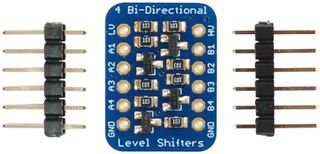 ADAFRUIT INDUSTRIES 757 LOGIC LEVEL CONVERTER, 4CH, ARM DEVELOPMENT BOARD (1 piece)