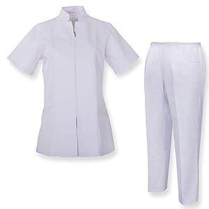 MISEMIYA Camisa Y Pantalón Mujer Túnica de enfermería 6