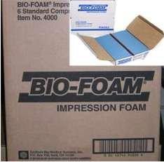 BIO-FOAM Impression Foam System #4000 6 Standard Compression Kits / 12 (Orthotic System)