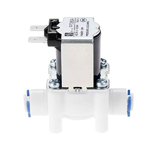 Electric Water Valve AC 24V DC Solenoid Valve 1/4