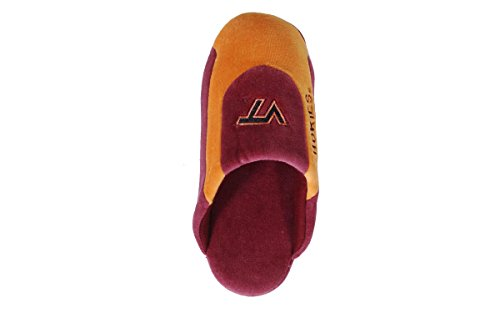 Happy Feet Mens and Womens OFFICIALLY LICENSED NCAA College Low Pro Slippers Virginia Tech Hokies SSruxQqp