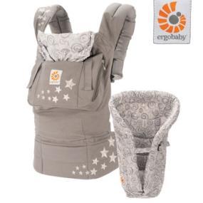 Ergobaby Organic Bundle Of Joy Carrier And Infant Insert